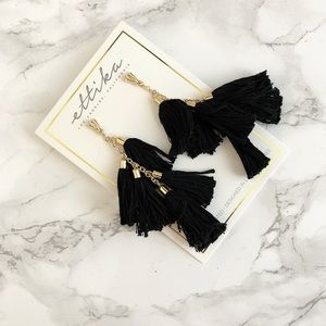 Jewelry - Ettika Day Dreamer Tassel Earrings